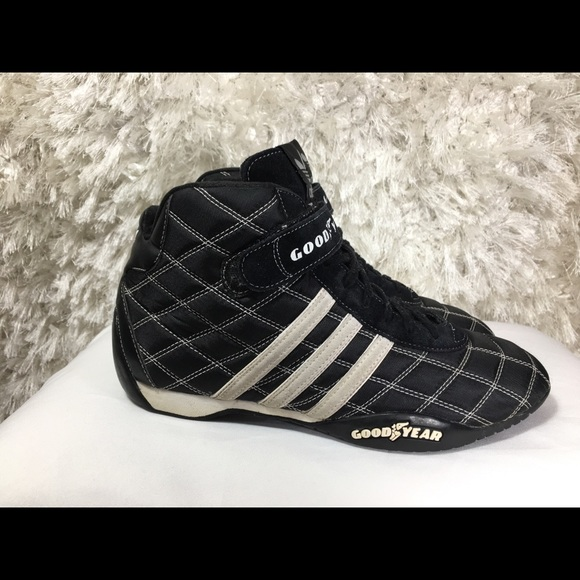 nouveau style 7f38b 1b10a Adidas Goodyear Monaco Racing Shoes Size 9